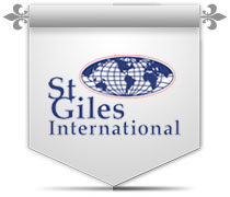 St. Giles International logo